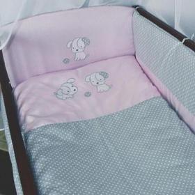 Комплект постільної білизни Медісон Песик рожевий 9 ел. (ДБ035 ... c52f47e847b40