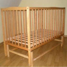 Купить детскую кроватку Twins Антошка 4 (бук натуральный) в Киеве по лучшей цене в интернет-магазине Немовлятко