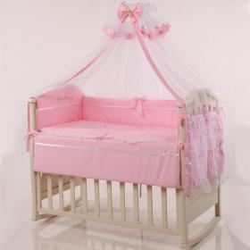 Комплект постільної білизни Маленька Соня Голден рожевий 7 ел ... d38438b024e47