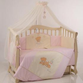 Комплект постільної білизни Маленька Соня Tiny Love рожевий 7 ел ... 0e512087b38fd